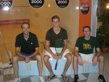 Siegertreppchen 2. Turnier Sommercup 2011