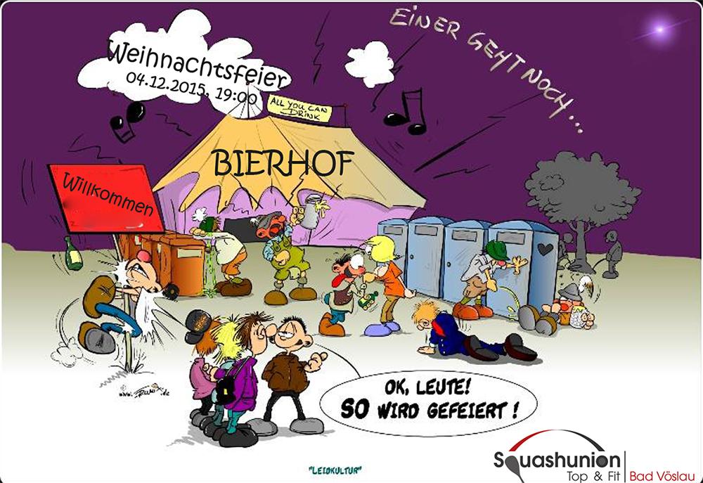 Weihnachtsfeier Cartoon.Weihnachtsfeier 2015 Topsquash